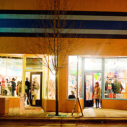 021312       Brian Leddy.Beeman Gallery and the Makeshift Gallery are two prominent businesses that were open for the Feb. 11 ArtsCrawl.
