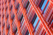 Central St Giles facade by Renzo Piano