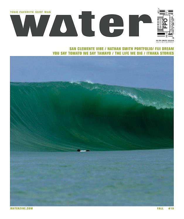 Water magazine cover