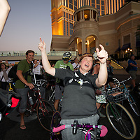 The Bike Hugger Mobile Social during the Interbike trade show 2010.