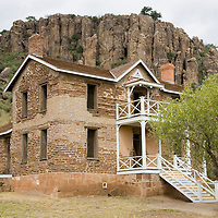 Fort Davis, Indian Wars' frontier military post, built from 1854 to 1891.  Fort Davis was strategically located on the Chihuahua Trail. Residence on the fort.