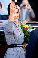 UTRECHT - Queen Máxima attends Saturday October 10 at the Beatrix Theater in Utrecht at the National Huurdersdag. The Tenants, who today celebrates its 25th anniversary, is organizing the huurdersdag. COPYRIGHT ROBIN UTRECHT UTRECHT - Koningin Máxima woont zaterdagochtend 10 oktober in het Beatrix Theater in Utrecht de Landelijke Huurdersdag bij. De Woonbond, die deze dag zijn 25-jarig jubileum viert, organiseert de huurdersdag. COPYRIGHT ROBIN UTRECHT