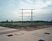 Valdeluz residential town. 1,200 inhabitants in 2011. 15 000 to 35 000 inhabitants were expected.