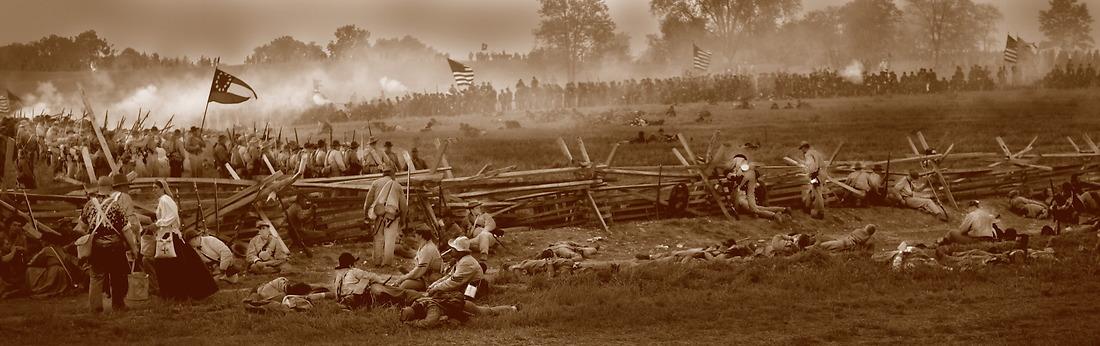 Battle of Antietam in Sharpsburg, Maryland, 2002 — © /