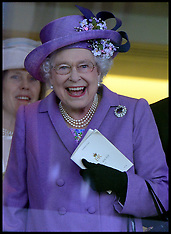 JUNE 20 2013 The Queen's horse wins The Gold Cup at Royal Ascot