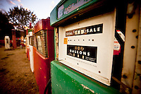 Old gas pump. Classical Gas in Embudo, New Mexico.