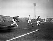 1962 - Shamrock Rovers v Shelbourne in the F.A.I. Cup Final at Dalymount Park