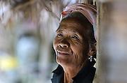 A Khamu woman near Luang Prabang, Laos.