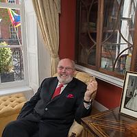 Senator David Norris who was the first person to win a lawsuit against the Irish state in order to decriminalize homosexuality / Le sénateur David Norris qui fût le premier à attaquer et gagner l'état irlandais pour décriminaliser l'homosexualité.