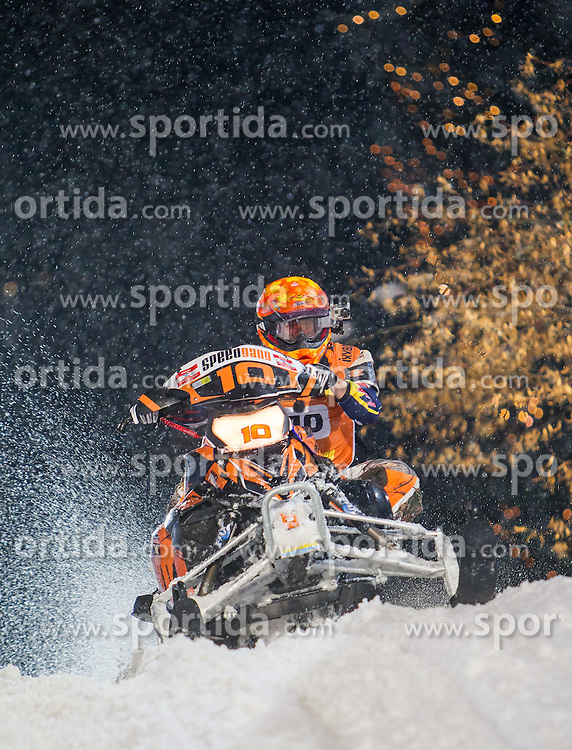 07.12.2014, Saalbach Hinterglemm, AUT, Snow Mobile, im Bild Team SPEEDGANG Sieger // during the Snow Mobile Event at Saalbach Hinterglemm, Austria on 2014/12/07. EXPA Pictures © 2014, PhotoCredit: EXPA/ JFK