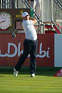 19.01.2013 Abu Dhabi, United Arab Emirates.  Graeme Storm in action during the European Tour HSBC Golf championship  third round from the Abu Dhabi Golf Club.