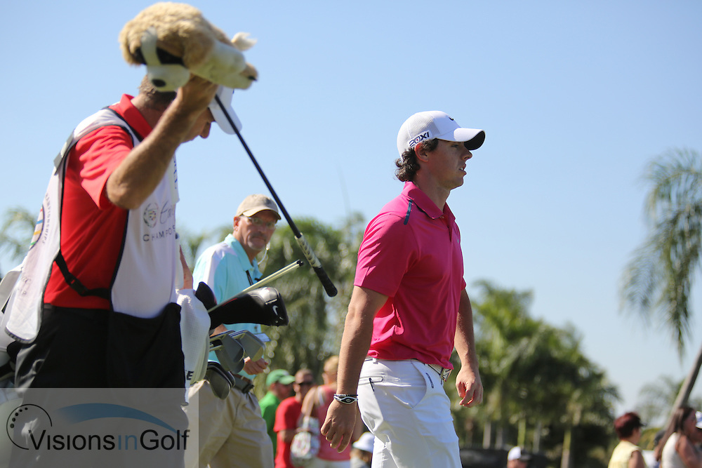 Rory McIlroy<br /> at the Cadillac WGC Doral, Miami, USA<br /> March 2013<br /> Picture Credit:  Mark Newcombe / www.visionsingolf.com