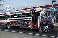 Vía Cincuentenario, diablo rojo. Panama City. ©Victoria Murillo/Istmophoto.com