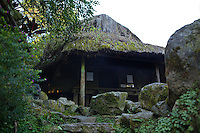 The dukligan or fertility hut is the most interesting building at Tam Awan village.  In traditional Ifugao practice mating couples stay there for a month. If the woman fails to conceive within that period, the man is allowed to sleep with another woman without forfeiting the marriage. The same treatment applies to the woman.  She can sleep with another man to find out which of them is fertile.