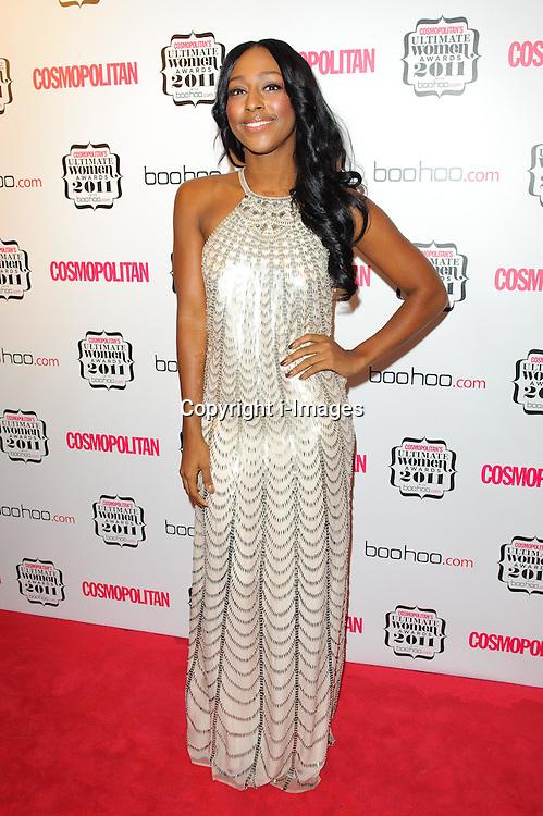 Alexandra Burke at Cosmopolitan's Ultimate Women Awards 2011 in London, Thursday, November 3rd 2011.  Photo by: i-Images