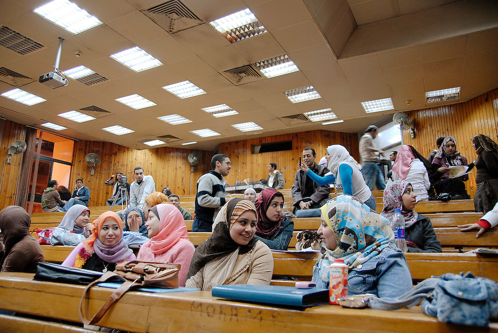 EGYYPT, CAIRO: Cairo University is a public university in Giza, Cairo, and on eof the best and biggest universities in Egypt with almost 250.000 students enrolled. Cairo University was founded in 1908 as a European-inspired civil university, in contrast to the religious university of Al Azhar, and became the prime indigenous model for other state universities. In 1928, the first group of female students enrolled at the university.