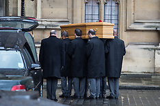 MAR 26 2014 Tony Benns coffin at Palace of Westminster