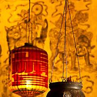 lanterns at Khoo Khonsi, George Town, Penang, Malaysi