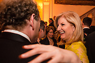 Arianna Huffington arrives for the Bloomberg Vanity Fair White House Correspondents' Association dinner afterparty at the residence of the French Ambassador on Saturday, April 28, 2012 in Washington, DC. Brendan Hoffman for the New York Times