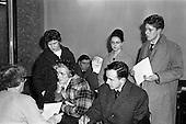 1962 - Enrolment for Irish language courses
