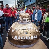 Simpatizantes del presidente Hugo Chavez celebran hoy 23 de enero de 2013 en Caracas. (Foto/Ivan Gonzalez)