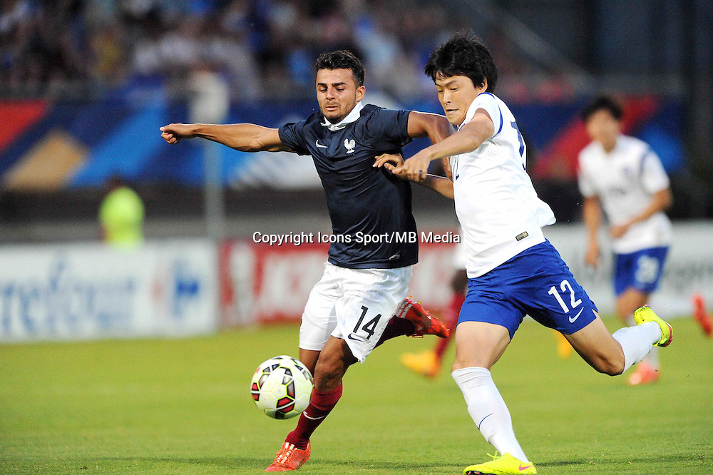 Corentin JEAN - 11.06.2015 - Football Espoirs - France / Coree du Sud - match amical -Gueugnon<br /> Photo : Jean Paul Thomas / Icon Sport