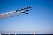 Blue Angels demonstration in Jacksonville Beach
