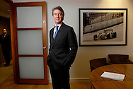 UK. London. Michael-Alen Buckley founder of RAB Capital in his offices in London. .