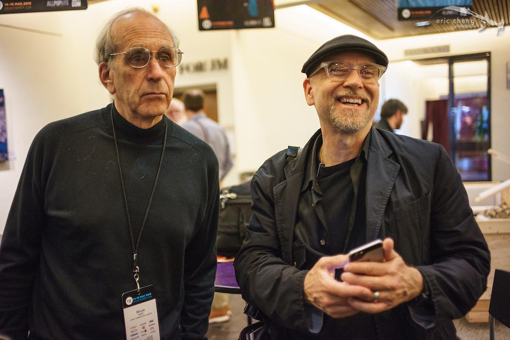 Bruce Katz (Samuel Hubbard Shoes) and Doug Menuez