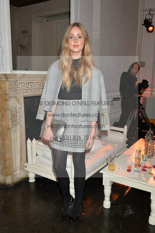 DIANA VICKERS at White by Agadir hosted by the Moroccan National Tourist Office to celebrate the White City in Morocco in the presence of H.H.Princess Lalla Joumala, Ambassador of HM The King of Morocco held at Il Bottaccio, 9 Grosvenor Place, London on 4th November 2014.