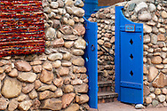 Santa Fe, New Mexico, Canyon Road, door, art gallery
