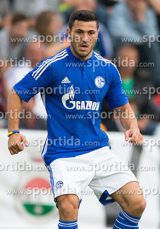 29.07.2014, Kufstein Arena, Kufstein, AUT, FS Vorbereitung, Testspiel, FC Schalke 04 vs Stoke City, im Bild Sead Kolasinac (FC Schalke 04) // during a Friendly Match between FC Schalke 04 and Stoke City at the Kufstein Arena, Kufstein, Austria on 2014/07/29. EXPA Pictures © 2014, PhotoCredit: EXPA/ Johann Groder