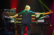 Geoff Downes of Yes performing at ACL Live, Austin, Texas, March 14, 2013.