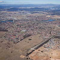 Aerial photo, Ngunnawal development site, ACT