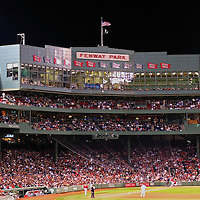 The ultimate gift and office, home or studio decoration for Red Sox Nation and the die hard Red Sox fan. Red Sox Nation at Boston Fenway Park with pitcher Jon Lester on the way to a no-hitter. Boston Fenway Park is the jewel of ballparks and the oldest ballpark in America, now in its 104th year. The romance began in 1912 when a century of jubilation and heartbreak began.<br />