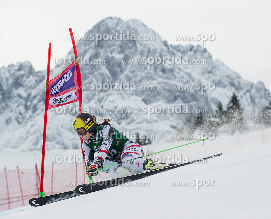 28.12.2013, Hochstein, Lienz, AUT, FIS Weltcup Ski Alpin, Lienz, Riesentorlauf, Damen, 1. Durchgang, im Bild Anna Fenninger (AUT) // during the 1st run of ladies giant slalom Lienz FIS Ski Alpine World Cup at Hochstein in Lienz, Austria on 2013-12-28, EXPA Pictures © 2013 PhotoCredit: EXPA/ Michael Gruber