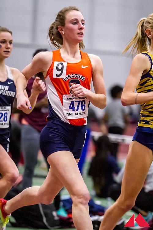ECAC Indoor Champs, womens 5000, Syracuse
