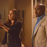 "ROSEWOOD: Jaina Lee Ortiz in the """"Lidocaine & Long-Term Lust"" episode of ROSEWOOD airing Thursday, Nov. 10 (9:00-10:00 PM ET/PT) on FOX. ©2016 Fox Broadcasting Co. CR: Lisa Rose/FOX"