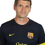 FC Barcelona team photos 2012