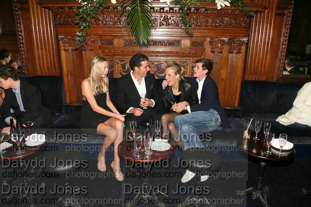 Lisa Henrekson, David Peacock, Lady Louisa Compton and Lord Alex ...