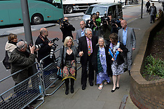 MAY 12 2014 Rolf Harris arrives at Court