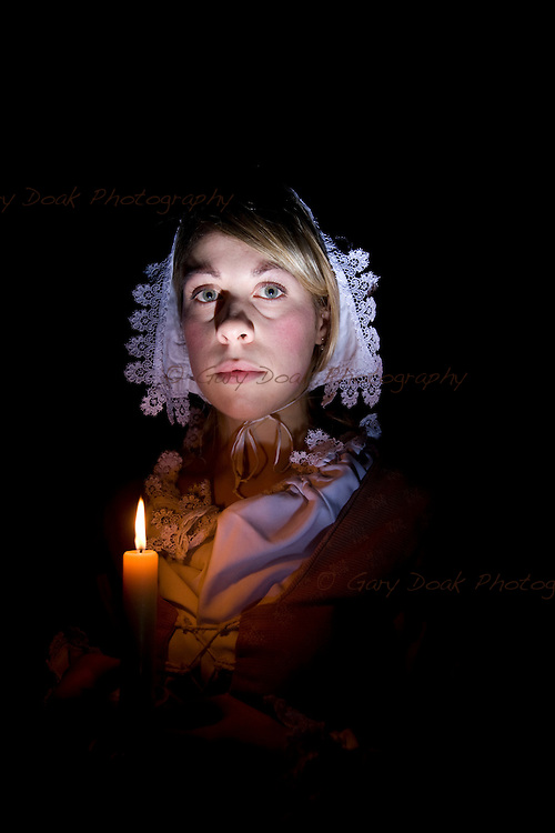 Mary King's Daughter, Jonet Nimmo. A character study for The Real Mary King's Close, Edinburgh.