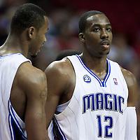 BASKETBALL - NBA - ORLANDO (USA) - 01/11/2008 -  .ORLANDO MAGIC V SACRAMENTO KINGS  (121-103) DWIGHT HOWARD  / ORLANDO MAGIC, RASHARD LEWIS / ORLANDO MAGIC