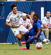 Soccer: Haiti vs Mexico CONCACAF Olympic Qualifying