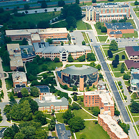 Aerial view of Delaware State University home of the Hornets