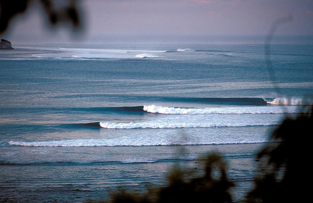 Dawn line-up at Tarimbang, Sumba, Indonesia.