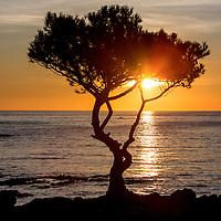 Sunrise on the Bay of Cadaques, Costa Brava, Spain