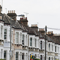 An iconic London roofscape from Lavender Hill