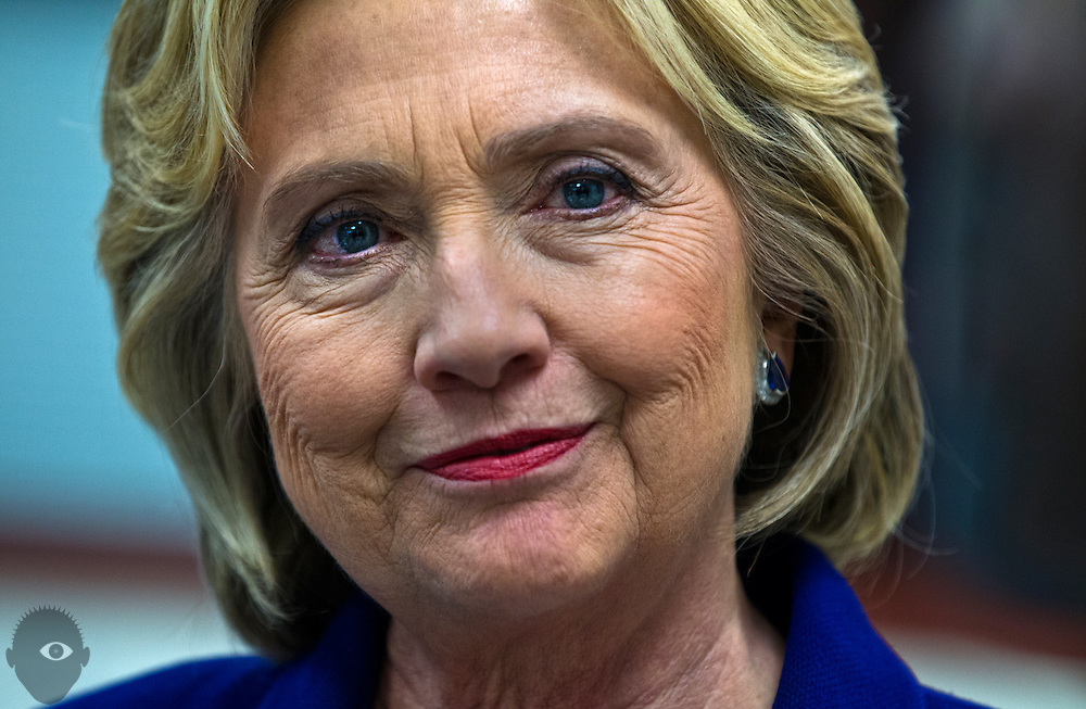 Hillary Clinton tours the Culinary Academy of Las Vegas on Wednesday, January 6, 2015.  L.E. Baskow