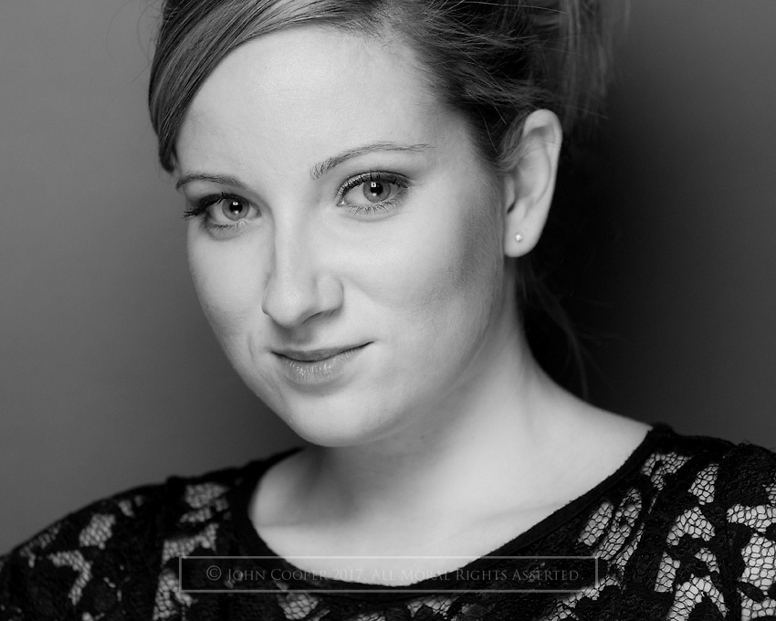 Headshot of musical theatre actress Jacqueline Hughes.